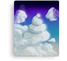 Cloud Poop Canvas Print