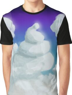 Cloud Poop Graphic T-Shirt