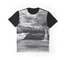 Upper Falls - Hocking River Graphic T-Shirt