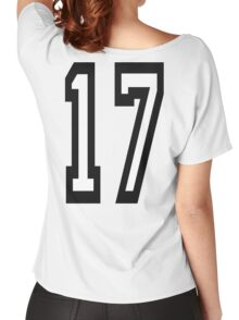 17, TEAM SPORTS, NUMBER 17, SEVENTEEN, SEVENTEENTH, ONE, SEVEN, Competition,  Women's Relaxed Fit T-Shirt