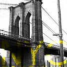 Brooklyn Bridge New York Graphic by Lee Whitmarsh