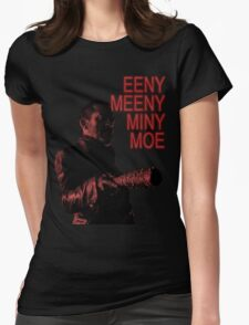 Eeny Meeny... Womens Fitted T-Shirt