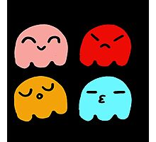 Pacman Ghosts Photographic Print
