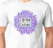 Crème de la Crème – Periwinkle Unisex T-Shirt