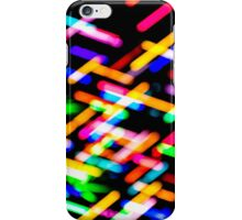 Criss Cross Lights iPhone Case/Skin