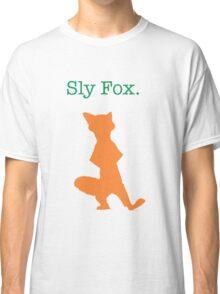 Zootopia / Zootropolis - Nick Wilde Sly Fox Classic T-Shirt