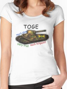 TOGE Women's Fitted Scoop T-Shirt