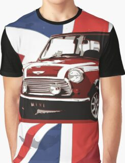 Cool Britannia Austin Mini  Graphic T-Shirt