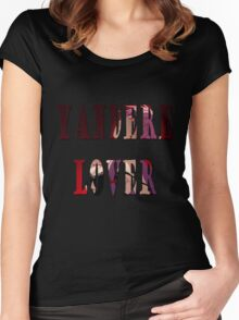 Yandere Lover Women's Fitted Scoop T-Shirt