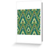 AMAZING GREEN Greeting Card