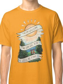 Please Pardon Yourself by the Avett Brothers Design Classic T-Shirt