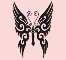 Butterfly Tribal Kids Tee