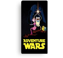 adventure time finn and jake starwars Canvas Print