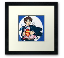 S FOR SUPER SETTER  Framed Print
