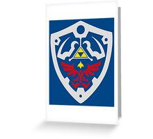 Hylian Of Shield Greeting Card
