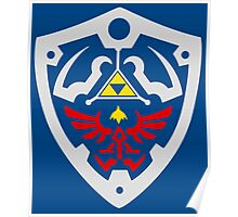 Hylian Of Shield Poster