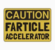 Farticle Accelerator Kids Tee