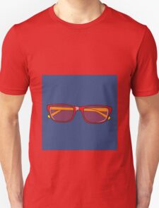 Pop Art Glasses Unisex T-Shirt