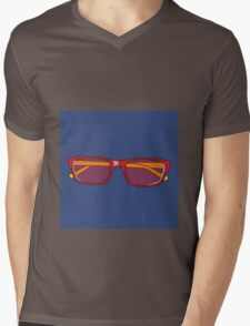 Pop Art Glasses Mens V-Neck T-Shirt