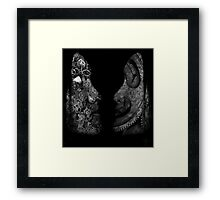Detached Framed Print