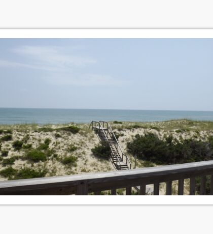 Outer Banks Ocean View Sticker