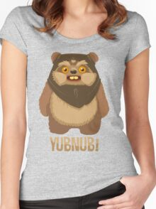 Yubnub! Women's Fitted Scoop T-Shirt