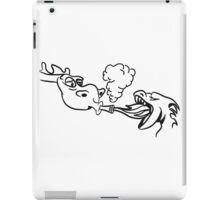 Dragon kiffen joint funny iPad Case/Skin