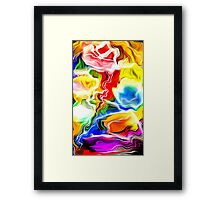 abstract pattern in nature Framed Print
