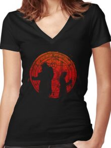 Brothers in Arms Women's Fitted V-Neck T-Shirt