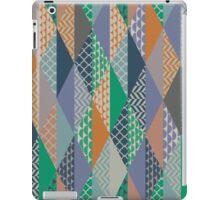 Wintry Patchwork Pattern iPad Case/Skin