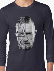 Here to take over plain profile Long Sleeve T-Shirt