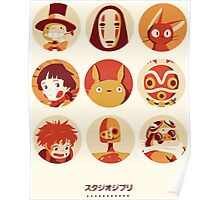 Ghibli Collection Poster
