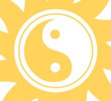 Yin yang sunshine Sticker