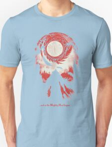And so the Nightly Hunt begins Unisex T-Shirt