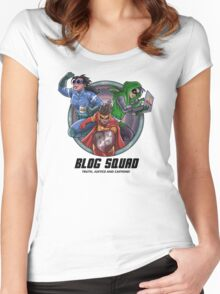 SheVibe Presents - The Blog Squad Women's Fitted Scoop T-Shirt