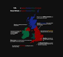 UK infographic Unisex T-Shirt