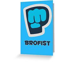 Brofist - Pewdiepie Greeting Card