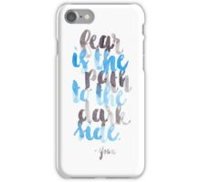 Path to the Dark Side iPhone Case/Skin