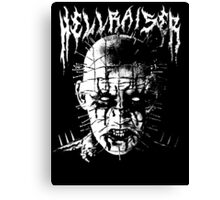 Black Metal Pinhead Canvas Print