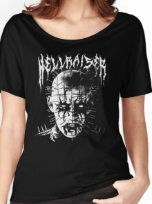 Black Metal Pinhead Women's Relaxed Fit T-Shirt
