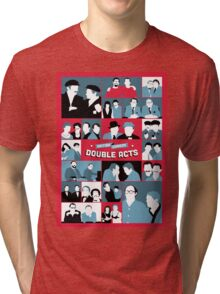 British Comedy Double Acts Tri-blend T-Shirt
