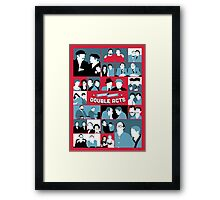 British Comedy Double Acts Framed Print