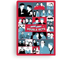 British Comedy Double Acts Canvas Print
