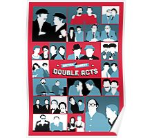British Comedy Double Acts Poster