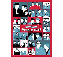 British Comedy Double Acts Photographic Print