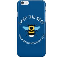 Save the Bees - Bumblebee iPhone Case/Skin