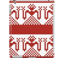 Knitted design pattern. Russian traditional motive. iPad Case/Skin