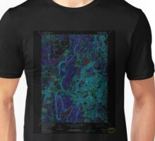 USGS TOPO Map Connecticut CT New Britain 330703 1966 24000 Inverted Unisex T-Shirt
