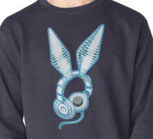 White Rabbit Earphones Pullover