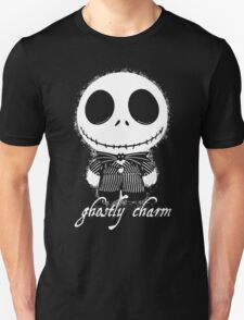 Ghostly Charm - Jack Skeleton Unisex T-Shirt